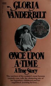Cover of: Once upon a time: a true story