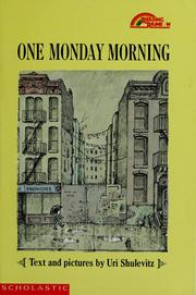 Cover of: One Monday morning