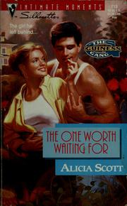 Cover of: The one worth waiting for
