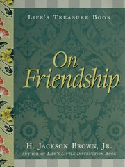 Cover of: On friendship