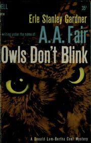 Cover of: Owls don't blink