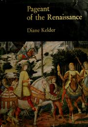 Cover of: Pageant of the Renaissance