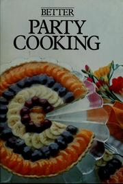 Cover of: Party cooking