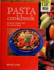 Cover of: Pasta cookbook