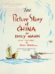Cover of: The picture story of China