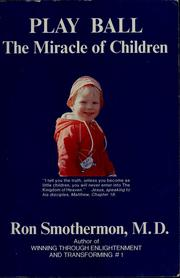 Cover of: Playball: the miracle of children