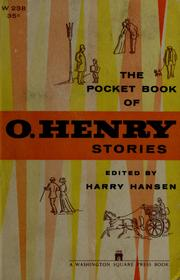 Cover of: The pocket book of O. Henry stories