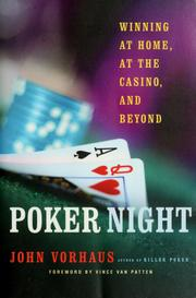 Cover of: Poker night: winning at home, at the casino and beyond