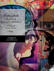 Cover of: Population: an introduction to concepts and issues