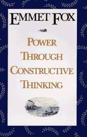 Cover of: Power through constructive thinking