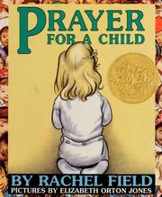 Cover of: Prayer for a child