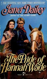 Cover of: The pride of Hannah Wade