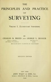 Cover of: The principles and practice of surveying ...