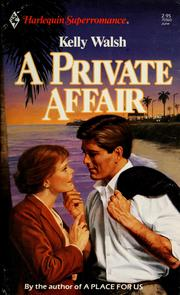 Cover of: A Private affair