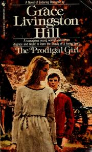 Cover of: The prodigal girl