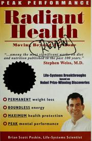 Cover of: Radiant health: moving beyond the zone