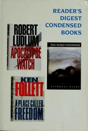 Cover of: Reader's Digest condensed books: volume 1, 1996.