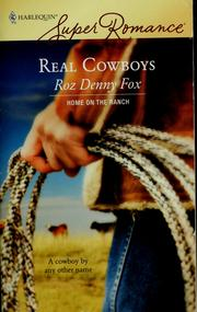 Cover of: Real cowboys