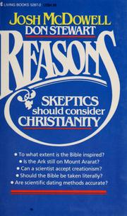 Cover of: Reasons skeptics should consider Christianity
