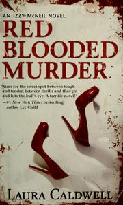 Cover of: Red blooded murder