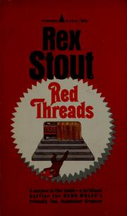 Cover of: Red threads