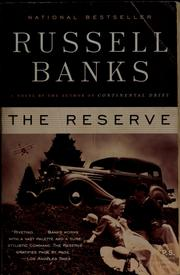 Cover of: The Reserve: a novel