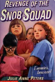 Cover of: Revenge of the Snob Squad
