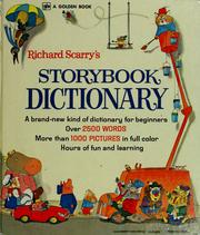 Cover of: Richard Scarry's storybook dictionary