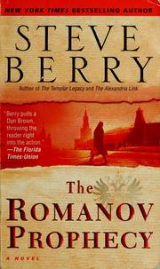 Cover of: The Romanov prophecy: a novel