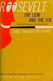 Cover of: Roosevelt: the lion and the fox