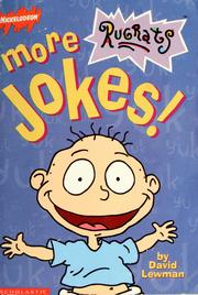 Cover of: The Rugrats' more jokes
