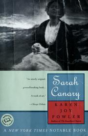 Cover of: Sarah Canary
