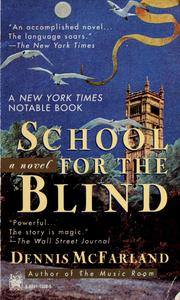 Cover of: School for the blind