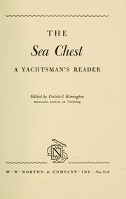 Cover of: The sea chest: a yachtsman's reader.