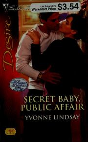 Cover of: Secret baby, public affair