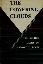 Cover of: The secret diary of Harold L. Ickes.