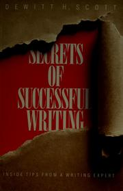 Cover of: Secrets of successful writing