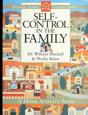Cover of: Self-control in the family