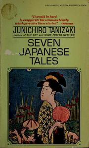 Cover of: Seven Japanese tales.