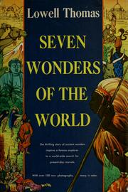 Cover of: Seven wonders of the world