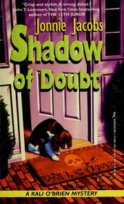 Cover of: Shadow of doubt: a Kali O'Brien mystery