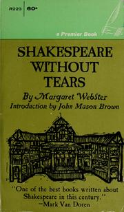 Cover of: Shakespeare without tears.