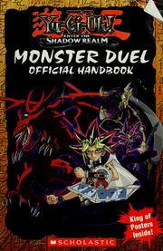 Cover of: Shonen Jump's Yu-Gi-Oh! Enter the shadow realm: monster duel official handbook