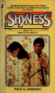 Cover of: Shyness