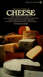 Cover of: The Signet book of Cheese