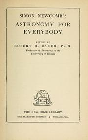 Cover of: Simon Newcomb's Astronomy for everybody