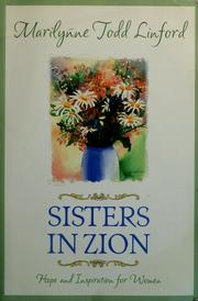 Cover of: Sisters in Zion: hope and inspiration for women