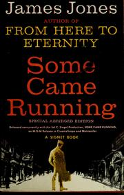 Cover of: Some came running.