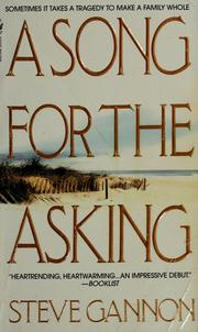 Cover of: A song for the asking