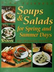 Cover of: Soups & salads for spring & summer days: kid-pleasing recipes